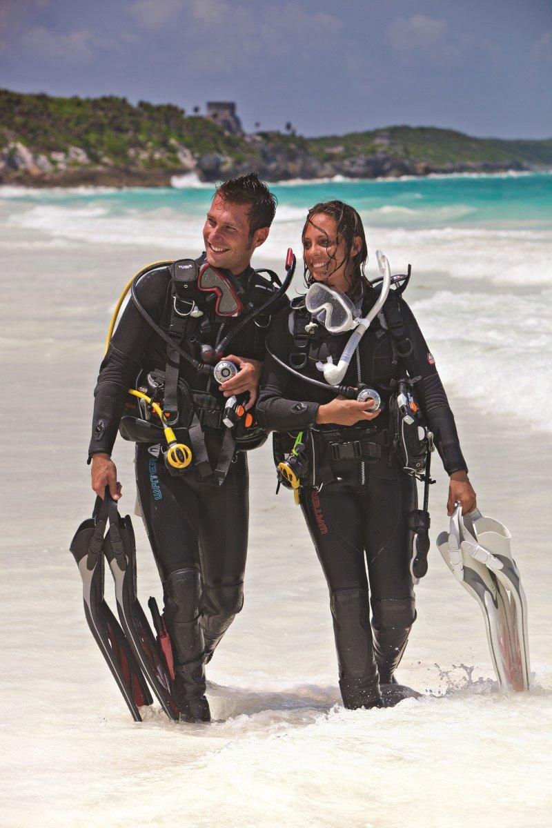 Что же такое дайвинг, то есть погружения под воду с аквалангом?