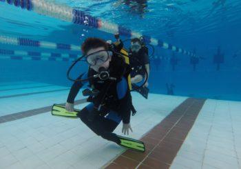 Обучение детей дайвингу — плаванию с аквалангом