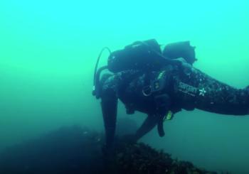 Погружение к затонувшему судну «Горделия»