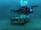Подводная фотосессия на карьере Лазурный