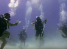 Лезгинка под водой