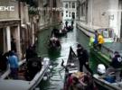 Дайверы почистили венецианские каналы после наводнения