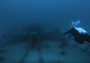 Погружение к затонувшему нефтяному танкеру на Мальте