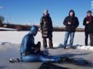 Алексей Молчанов установил рекорд Гиннесса по плаванию подо льдом