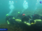 Крымские дайверы показали, как тренируются спасать людей в максимально непростых условиях