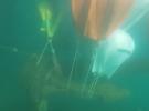 В Крыму со дна Черного моря подняли пятитонный якорь