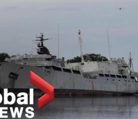 В Новой Шотландии дайверы хотят превратить заброшенный корабль в искусственный риф