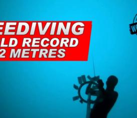 Арно Джеральд установил мировой рекорд по фридайвингу на глубине 112 метров