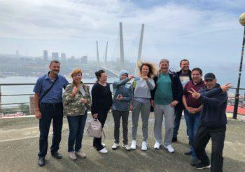 Сентябрь 2020 года. Приморский край. Владивосток. Бухта Витязь.