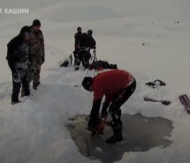 В Карачаево-Черкесии установили мировой рекорд по горному айс-дайвингу