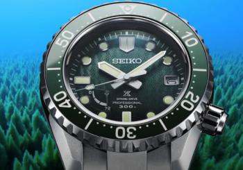 Лимитированная коллекция часов для дайвинга от Seiko