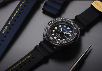 """Новые часы """"Tuna"""" для подводного плавания от Seiko"""