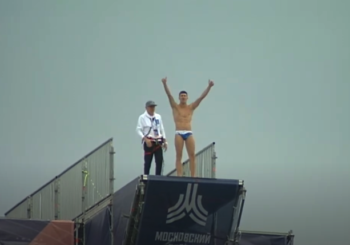 Артём Сильченко выиграл Кубок мира по хай-дайвингу