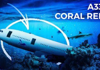 Как Airbus A330 превратился в океанский риф